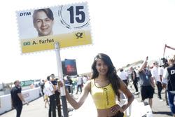 Chica de la parrilla de Augusto Farfus, BMW Team RMG