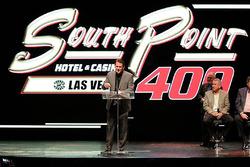 Presentazione del logo Las Vegas Motor Speedway Monster Energy NASCAR Cup Series