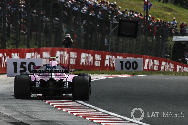 Эстебан Окон, Sahara Force India F1 VJM11