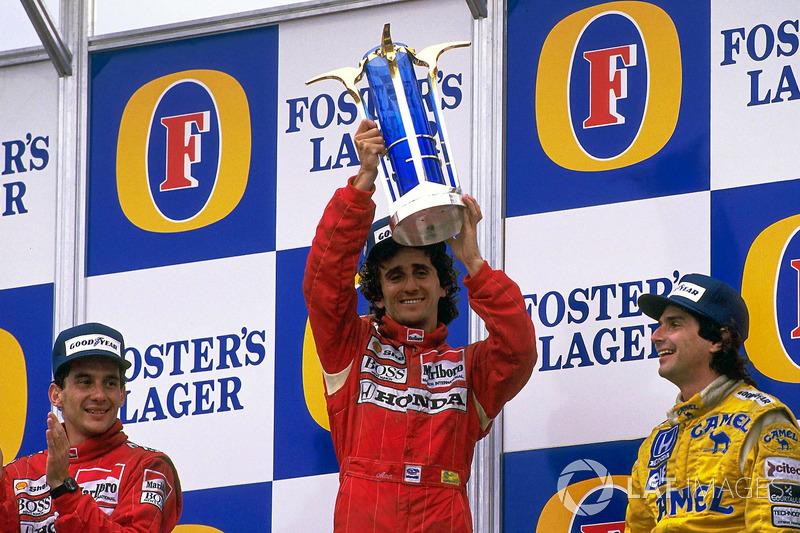 12. 1988 - Alain Prost, McLaren (72,9%)