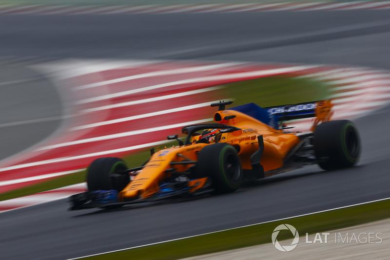 #2 Stoffel Vandoorne, McLaren