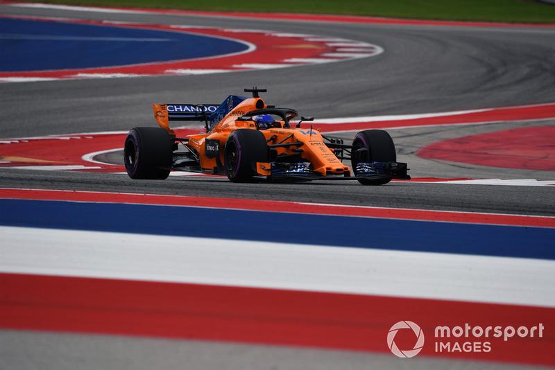 11. Фернандо Алонсо, McLaren — 50
