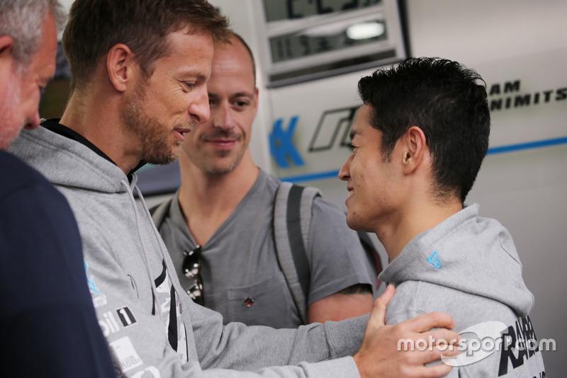 Дженсон Баттон і Наокі Ямамото, #100 RAYBRIG NSX-GT