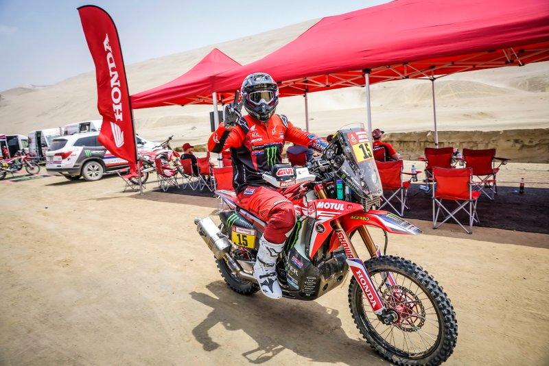 #15 Monster Energy Honda Team: Ріккі Брабек
