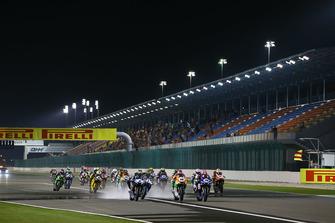 Start zum Supersport-Finale 2018 auf dem Losail International Circuit in Katar