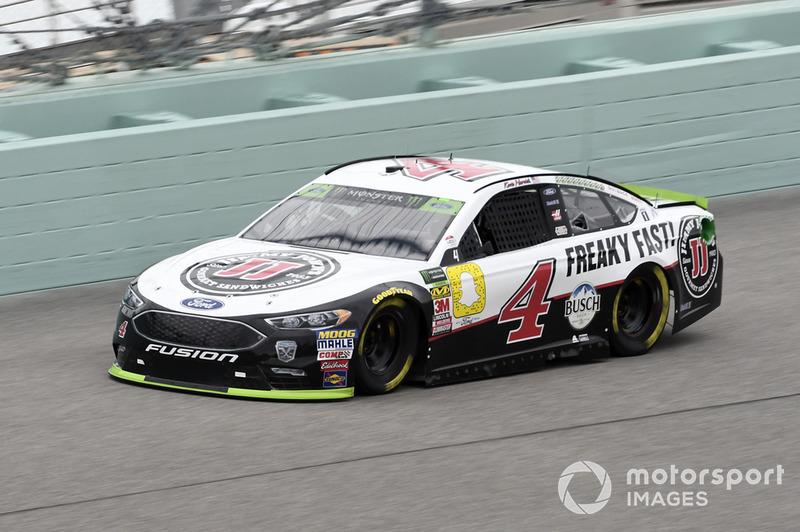 Kevin Harvick (Stewart/Haas-Ford): Dritter mit P3 im Rennen