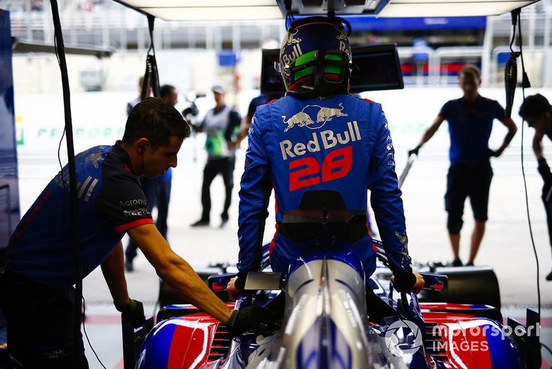 Brendon Hartley, Toro Rosso
