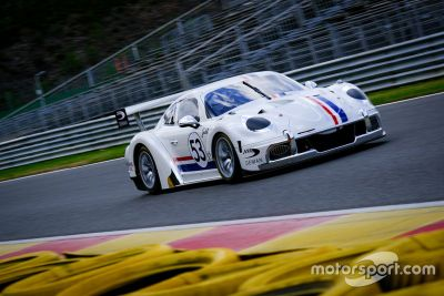 24 Hours of Spa test days