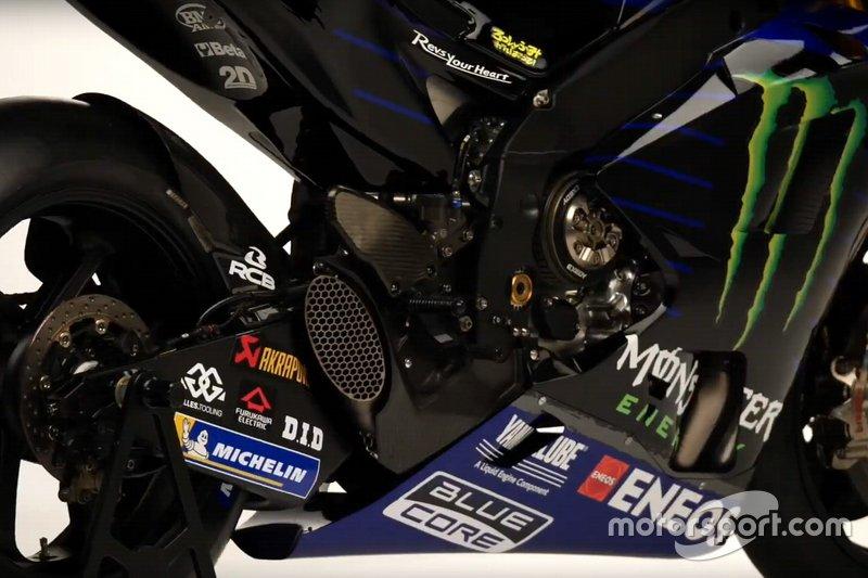 Gros plan sur la Yamaha Motor Racing, YZR-M1