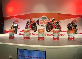 Le moto di Mick Doohan, Marc Márquez, Jorge Lorenzo e Alex Crivillé, Honda HRC