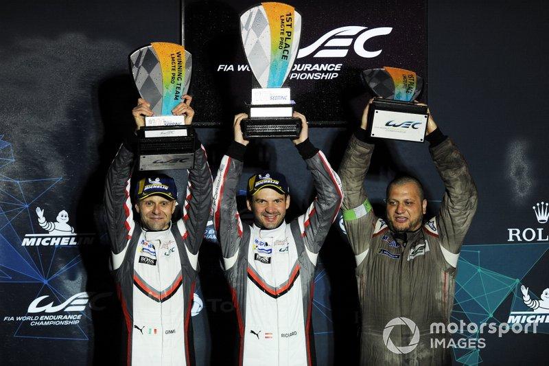 Podio GTLM Pro: #91 Porsche GT Team Porsche 911 RSR: Richard Lietz, Gianmaria Bruni