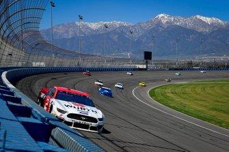 Brad Keselowski, Team Penske, Ford Mustang Wurth, Alex Bowman, Hendrick Motorsports, Chevrolet Camaro Nationwide Pet Insurance