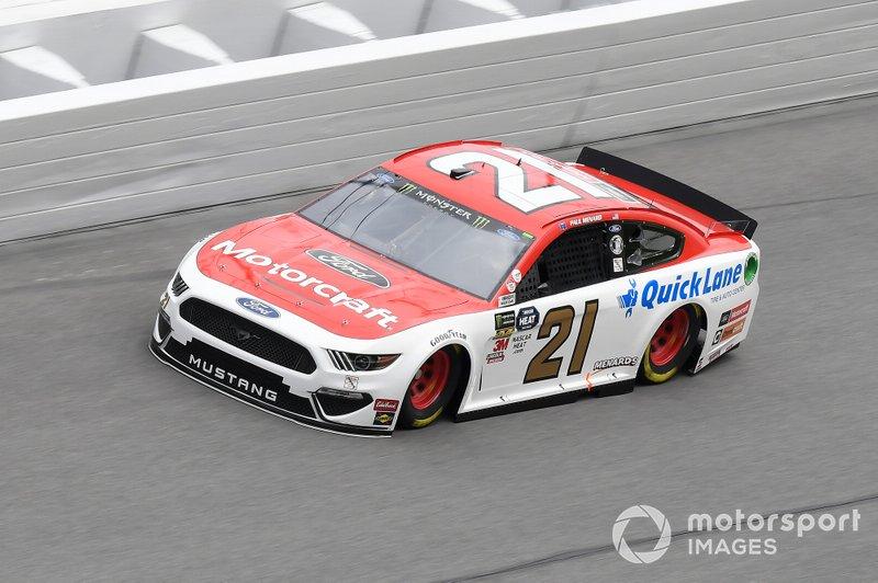 #21: Paul Menard, Wood Brothers Racing, Ford Mustang