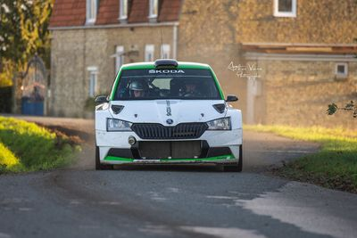 Oliver Solberg - Ypres Rally test