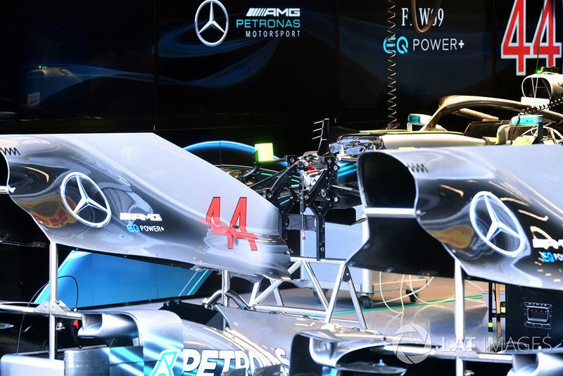 Mercedes AMG F1 W09 bodywork