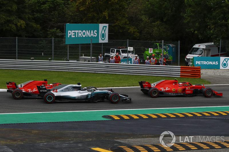 Italia - Sebastian Vettel/Lewis Hamilton (carrera)
