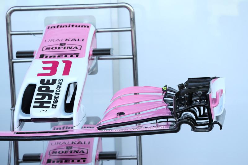 Racing Point Force India VJM11 ön kanadı