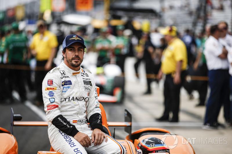 Формула 1 Все про Алонсо в Indy 500