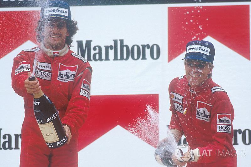 O francês teve sua marca superada apenas no GP da Bélgica de 2001, quando Michael Schumacher ganhou sua 52ª corrida. O alemão é o recordista atualmente com 91 vitórias.