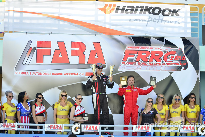 Chris Fountas de ANSA Motorsports, Sergio Lagana de Champ1 Motorsports