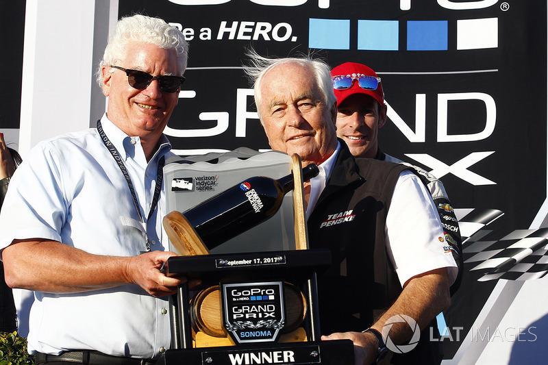 А среди команд не было равных Penske, чьи пилоты в сумме выиграли десять гонок