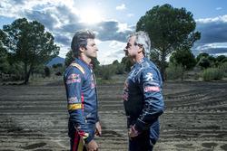 Carlos Sainz and Carlos Sainz Jr.
