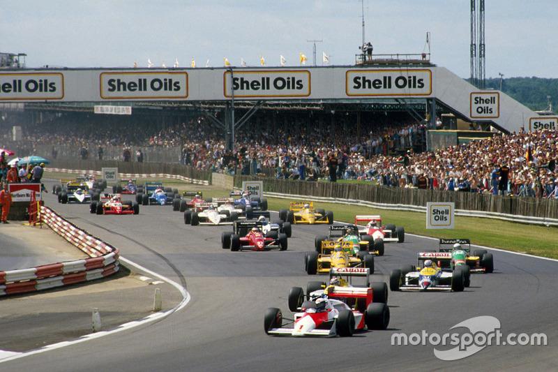 2 место. Гран При Великобритании-1987, «Сильверстоун»