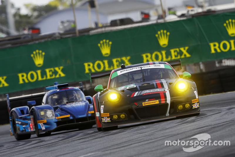 #73 Park Place Motorsports Porsche GT3 R: Patrick Lindsey, Jörg Bergmeister, Matthew McMurry
