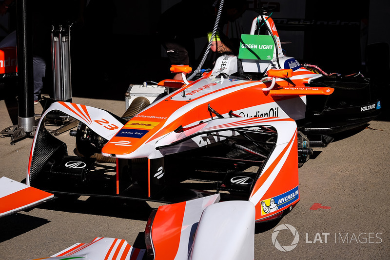 Auto von Nick Heidfeld, Mahindra Racing