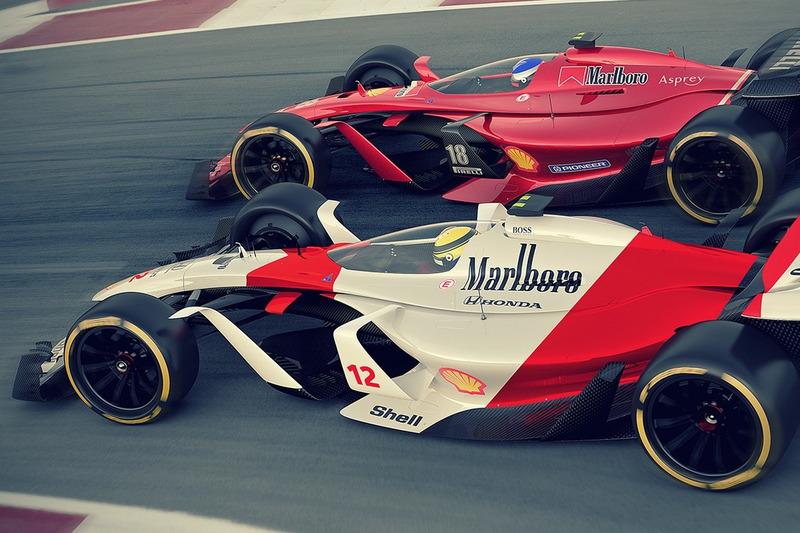 McLaren 2025 и Ferrari 2025