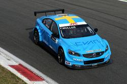 Yvan Muller, pilote d'essais Polestar Cyan Racing, Volvo S60 Polestar TC1