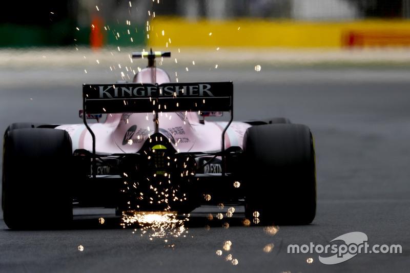 Ф1, Мельбурн 2017:  Естебан Окон, Force India VJM10