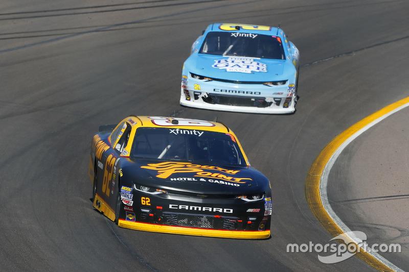 Brendan Gaughan, Richard Childress Racing, Chevrolet; Daniel Hemric, Richard Childress Racing, Chevr