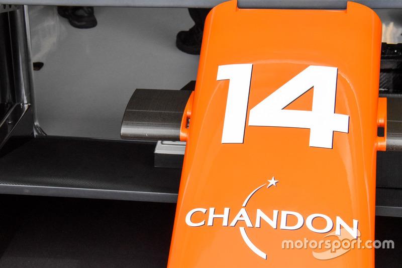 """تفاصيل أنف سيارة مكلارين """"ام.سي.ال32"""""""