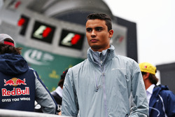 Pascal Wehrlein, Manor Racing on the drivers parade