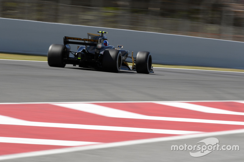 18 місце — Джоліон Палмер, Renault. Умовний бал — 6,309