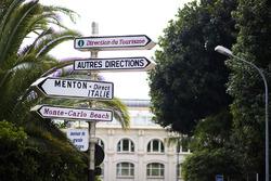 Letreros de la calle