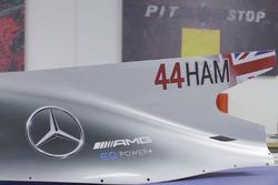 Плавник Mercedes AMG F1 W08 Льюиса Хэмилтона