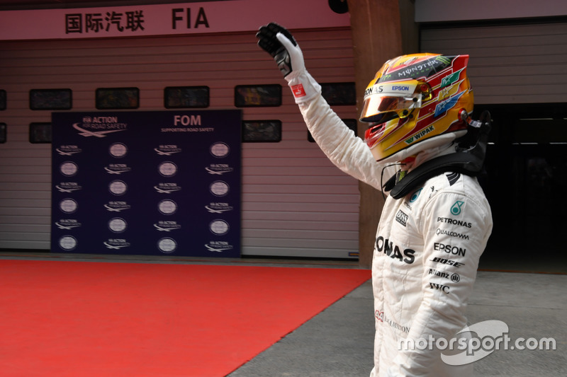2º GP de China 2017 - Pole para Lewis Hamilton