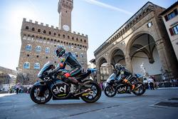 Andrea Migno, SKY Racing Team VR46 and Francesco Bagnaia, SKY Racing Team VR46