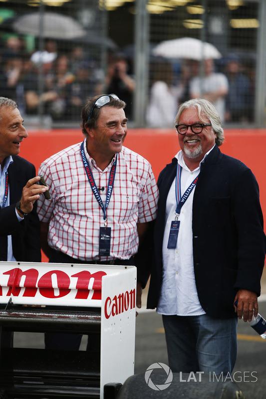 Riccardo Patrese, Nigel Mansell, Keke Rosberg