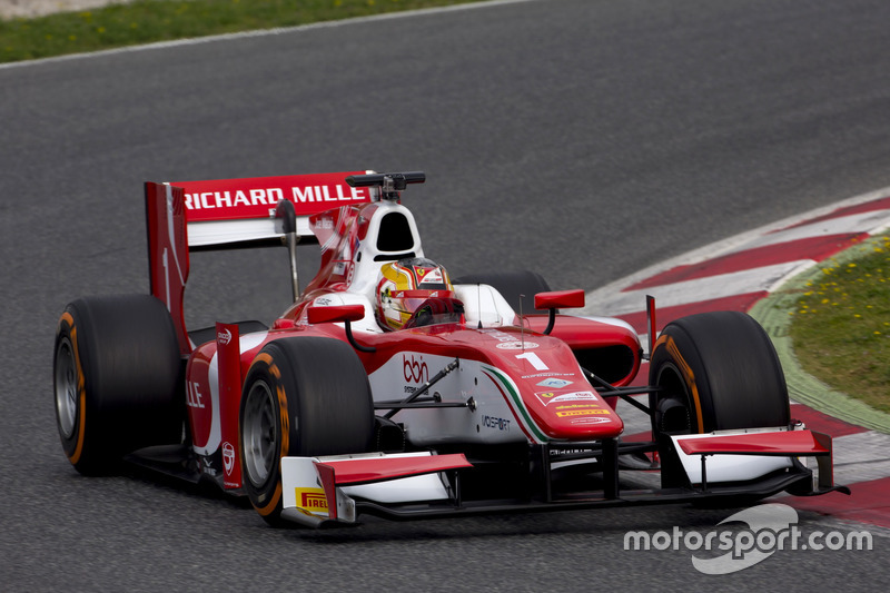 En 2017, dio el salto a la Fórmula 2 y no pudo hacerlo mejor, conquistando el título de manera dominante antes de acabar la temporada.