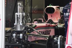 Vue détaillée de l'avant de la Force India VJM10