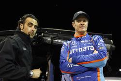 Scott Dixon, Chip Ganassi Racing, Honda, mit Dario Franchitti