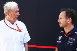 Christian Horner, Red Bull Racing Team Principal and Dr Helmut Marko, Red Bull Motorsport Consultant