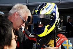Race winner Joel Eriksson, Motopark Dallara F317 - Volkswagen