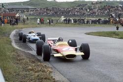 Graham Hill, Lotus 49B, Jackie Stewart, Matra MS10