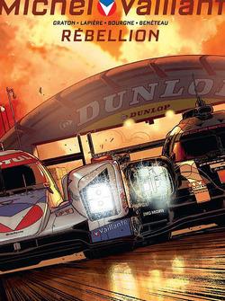 Cover Michel Vaillant Le Mans Comic mit Rebellion Racing und dem Porsche Team