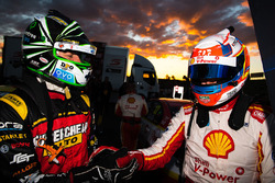 Race winner Fabian Coulthard, Team Penske Ford, second place Chaz Mostert, Rod Nash Racing Ford