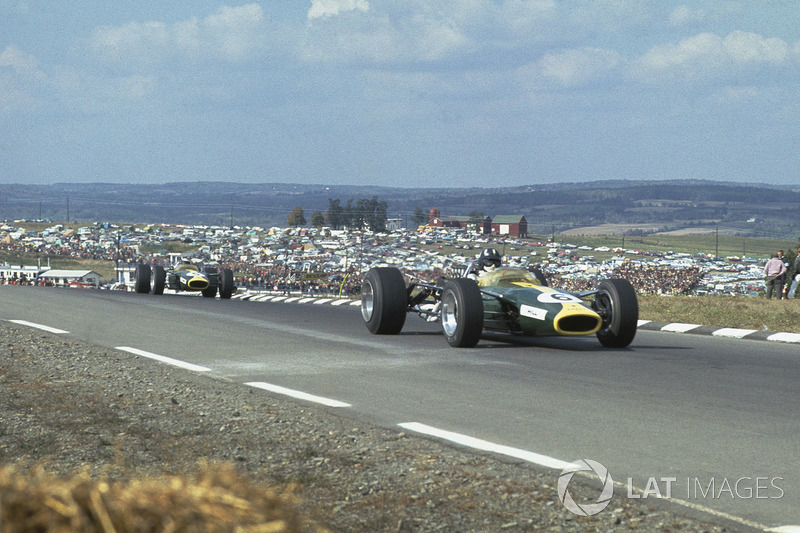 12. США-1967, Воткінс-Глен: Грем Хілл, Lotus 49 - 1.05,480